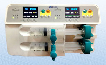 Duel-channel target-contrlol syringe pump DQ-700TCI-北京安腾